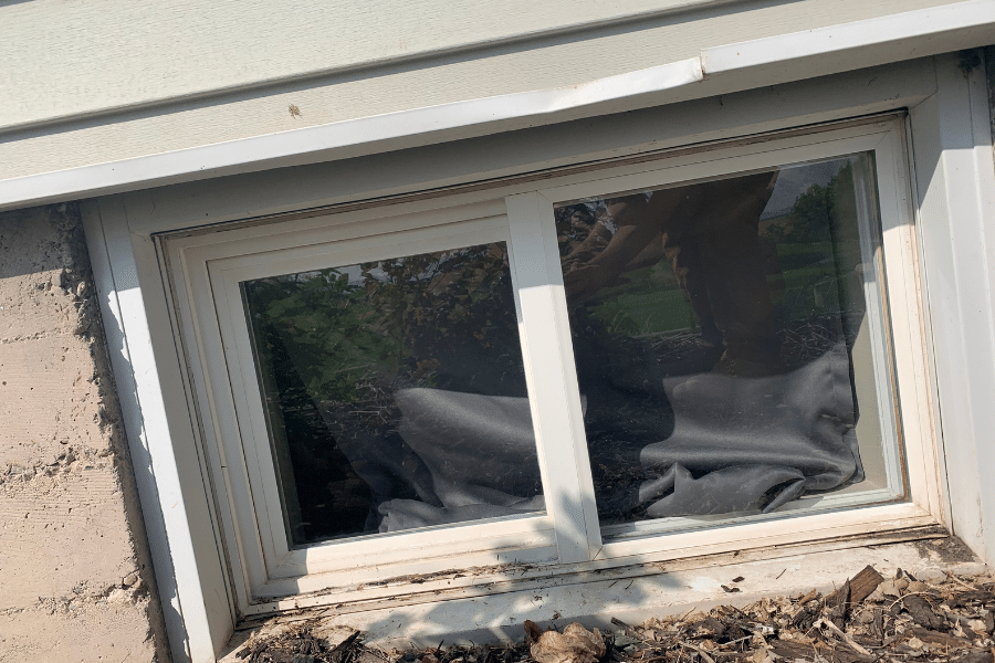 The result of our cache valley window cleaning service!